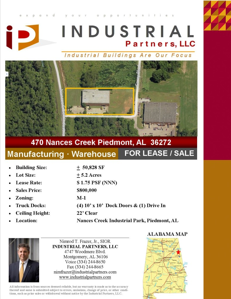 470 Nances Creek, Piedmont AL 36272 FLYER pg 1
