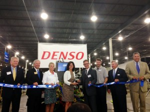 DENSO ribbon cutting