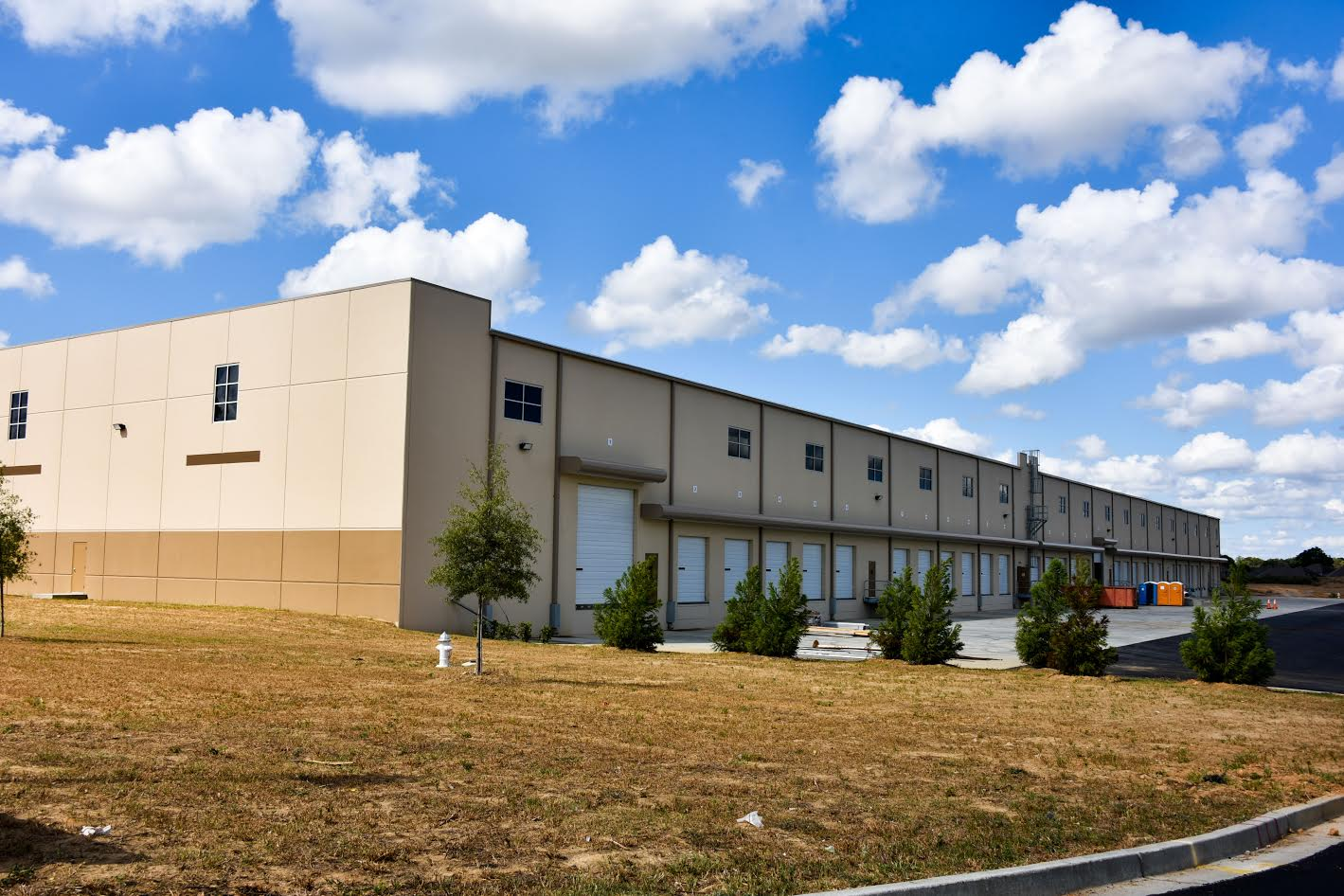 Industrial space available for lease industrial partners for Building a spec house